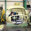 Building a helicopter at the Ulan-Ude Aviation Plant. (Buryatia, Russia)