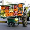 Fruit vendor. (Hurghada, Egypt)