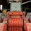 Industrial equipment at Petropavlosk's mining operations. (Amur Region, Russia)