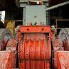Industrial equipment at Petropavlosk's mining operations. (Amur Region, Russia)