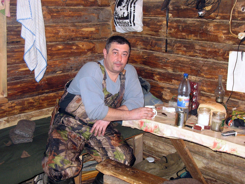 Forest ranger Vadim. (Tyumen Oblast, Russa) Вадим, охотовед.