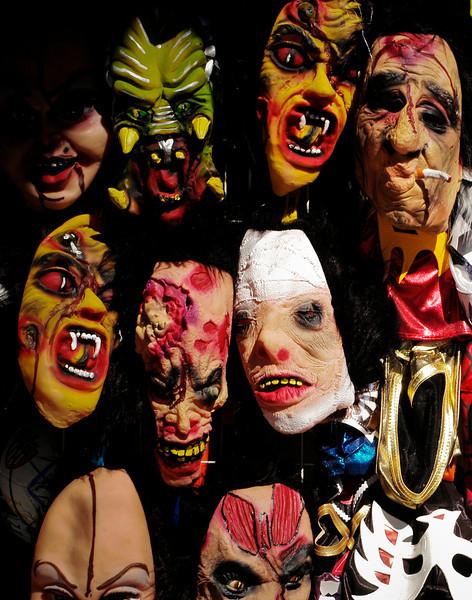Masks or mascaras