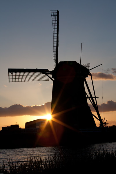 Dutch Windmill<br /> The Netherlands