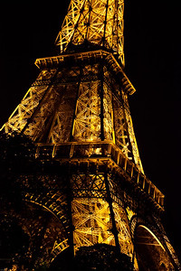 Night Tower Paris, France