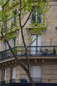 Bike Balcony Paris, France