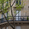 Bike Balcony<br /> Paris, France