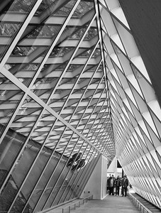 Triangles Seattle Public Library, Seattle, Washington