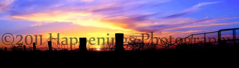 Chasing the Texas Sunset by Rhonda Holcomb ©2011 All Rights Reserved.  Has framing and finishing options. <br />  Crops best at 10x30 and 12x36 .