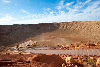 North America, USA, Meteor Crater near Winslow, Arizona
