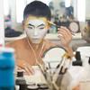 Michael Jackson One makeup session