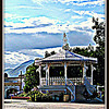 Afternoon at the Bandstand; Town Square, San Jose del Cabo  <b>Copyright © Florence T. Gray. This image is protected under International Copyright laws and may not be downloaded, reproduced, copied, transmitted or manipulated without written permission.</b>
