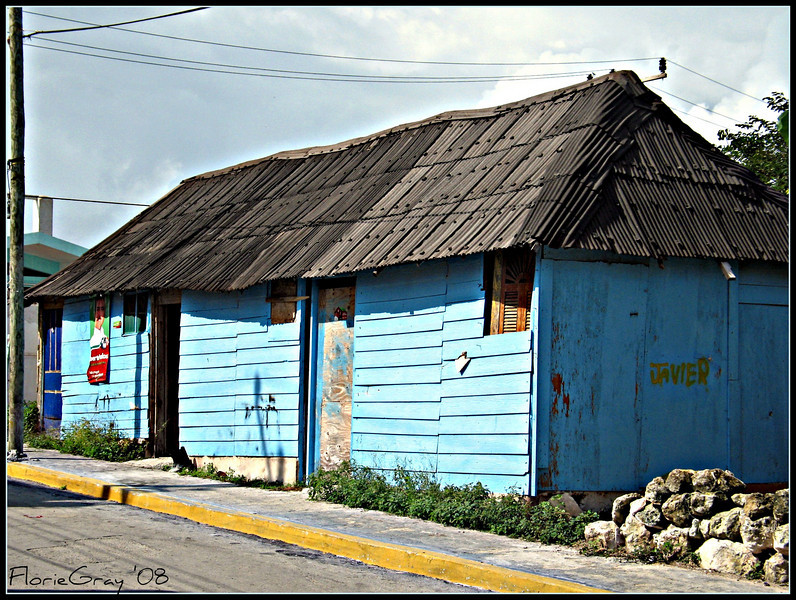 The Blue House (Javier's, not Frida's) <br /> Isla Mujares, Mexico
