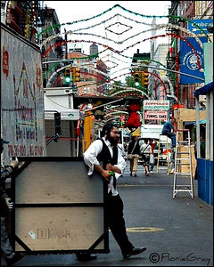Ecuminical Workers, San Gennaro Festival, NYC  Selected for inclusion, Schmap East Coast Guide