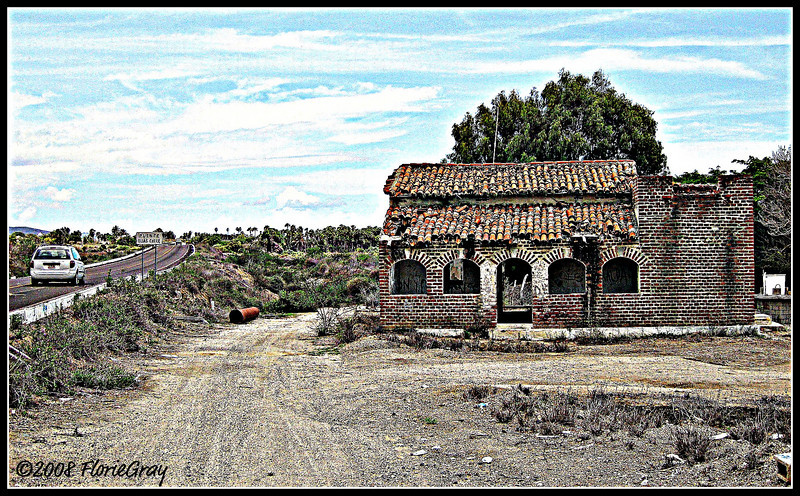 Hacienda The Road  <b>Not to be reproduced without the written permission of Florence T. Gray</b>