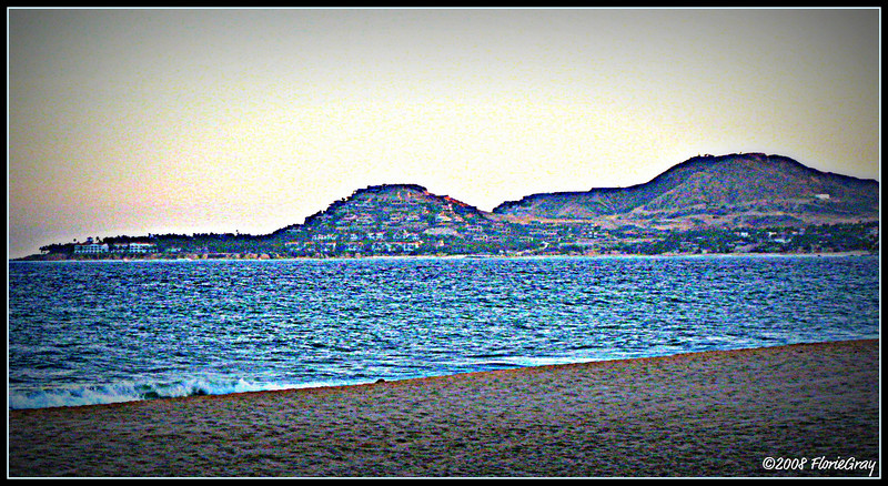 Day's End at Land's End <br /> Sea of Cortez, San Jose del Cabo, Mexico