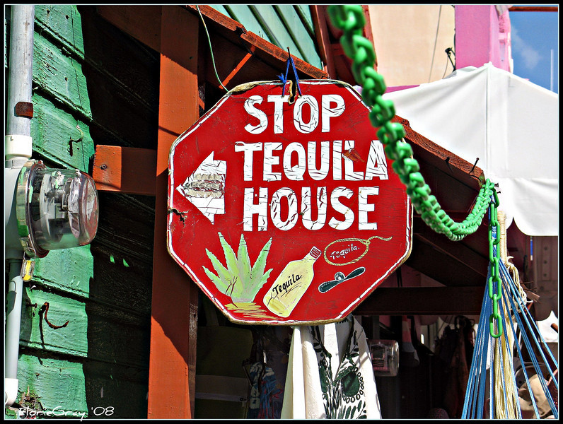 Sign of the Thirsty Traveller <br /> Isla Mujeres, Mexico