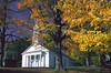 Church and Fall Trees - Vermont
