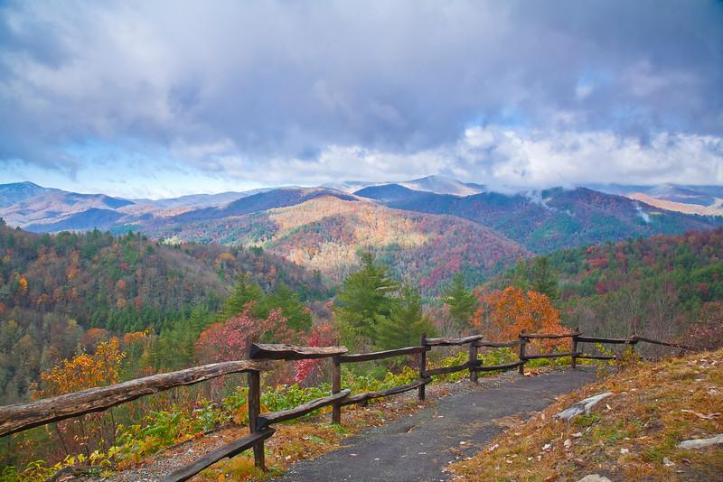Cataloochee Valley North Carolina Fall 2011
