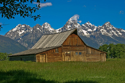 Morton Barn Teton National Park - Jackson Hole Wyoming