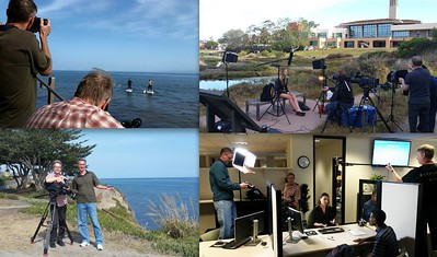 Another shoot with the NewGroup Media team at UC Santa Barbara...shooting videos for the admissions department.