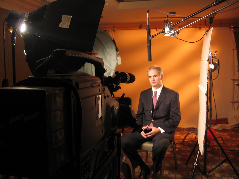 Interviewing a Sotheby's International Realty executive in Phoenix