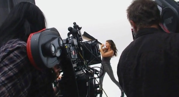 Here's a little piece we shot with Fergie a while back at Sony Studios in Los Angeles:    http://www.roleypoley.com/outspoken.html  We were shooting with Kenji Edmonds for Roley Poley Productions in New York on an Avon commercial.  Fergie was introducing her new fragrance line with Avon called Outspoken.
