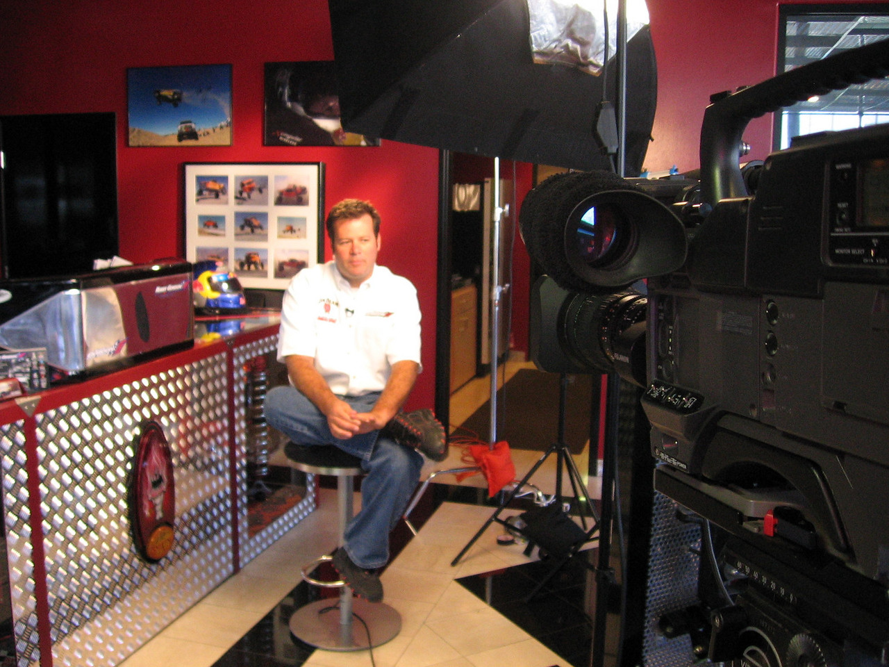Nascar interview with Robby Gordon