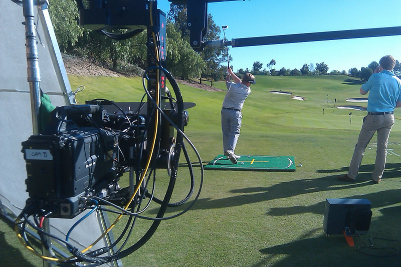 Golf shoot with Sloan Productions