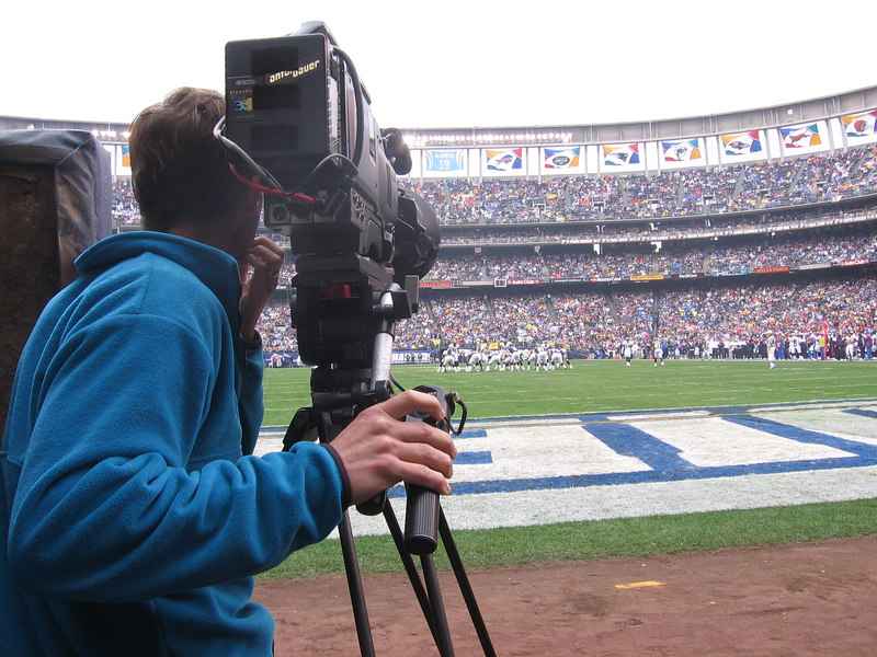 More ESPN football coverage of the Chargers for Bob Sloan Productions