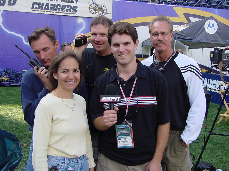 The BSP ESPN crew...some great times...