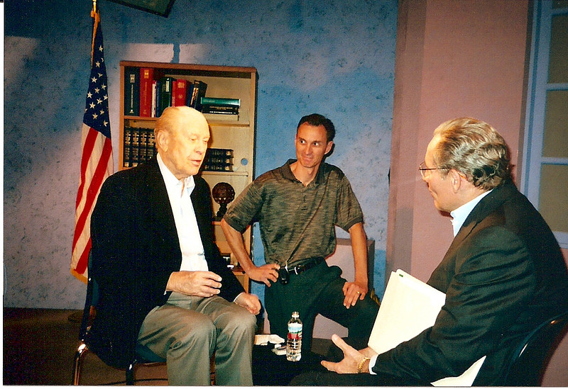 An interview with former President Ford and Bob Woodward about the Watergate story.