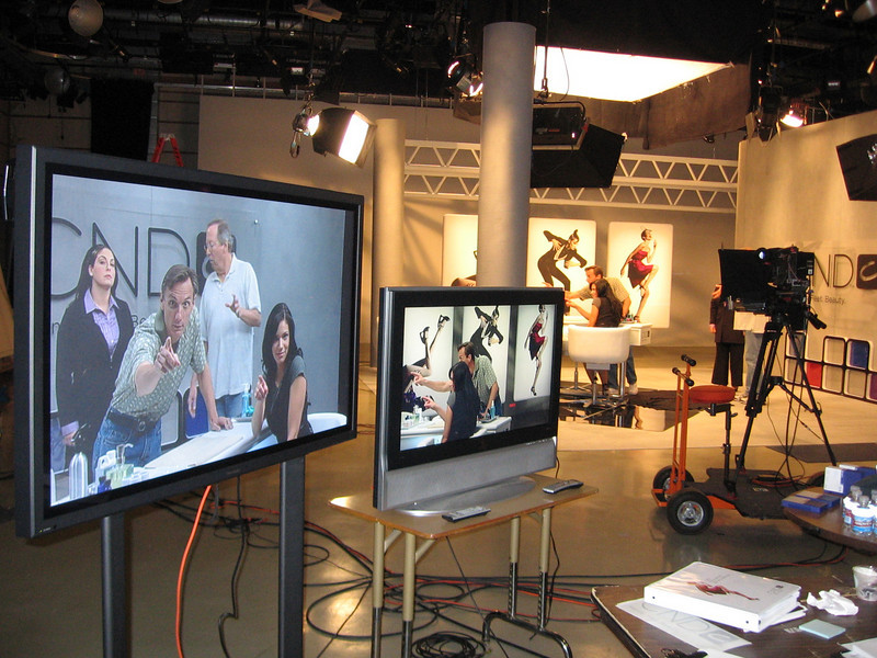 Multi-camera studio shoot