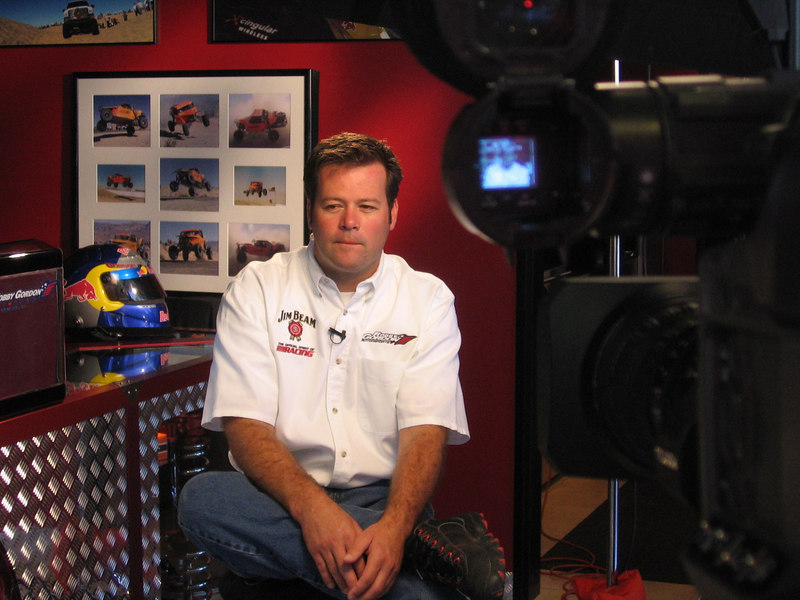 Nascar interview with Robby Gordon
