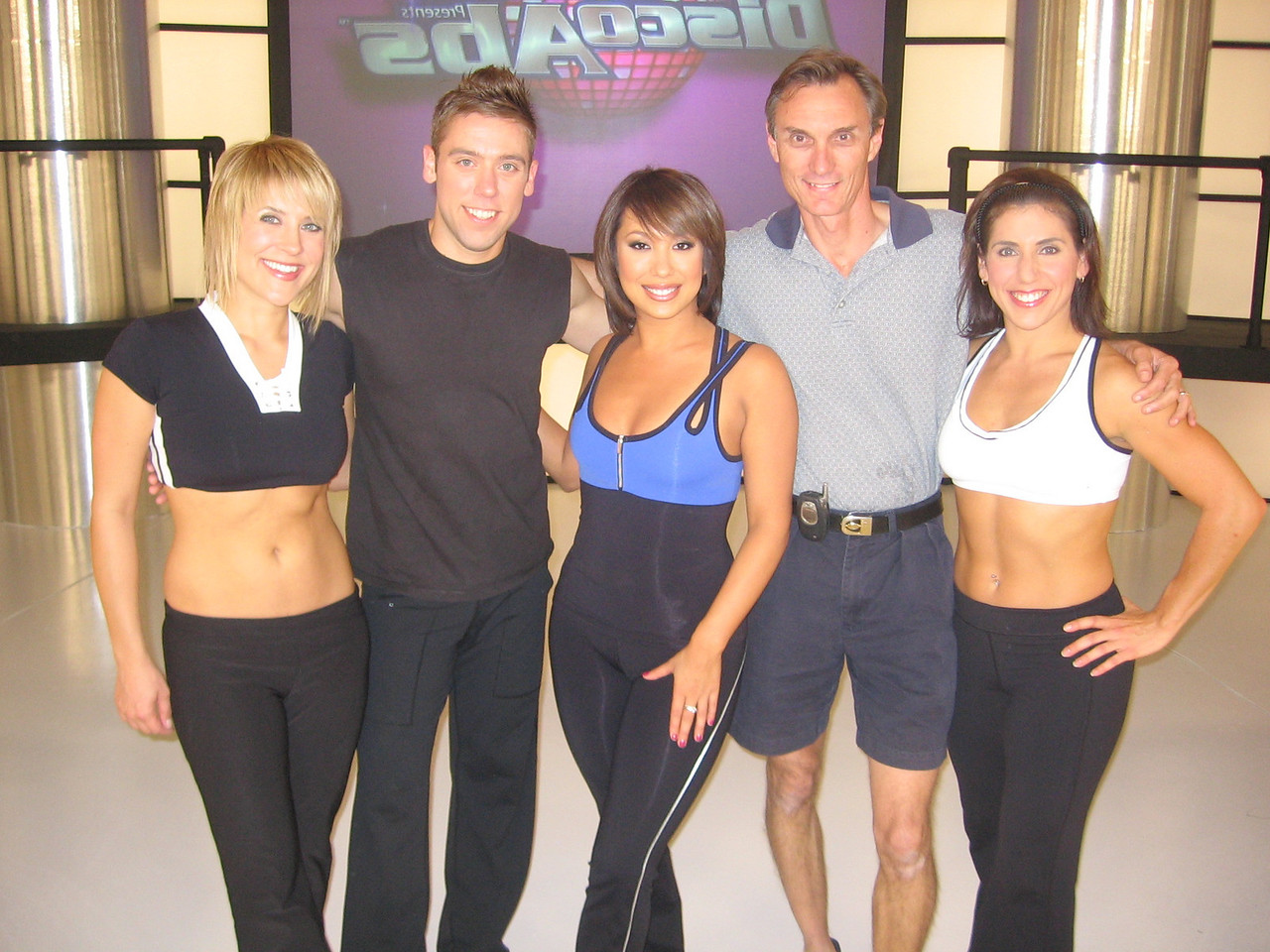 "Workout video with ""Dancing with the Stars"" performer Cheryl Burke and work out partners."