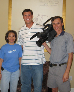 An interview with Philip Rivers a while back.  Rosa joined us on this one--as she did on many of the football projects I have shot over the years.  She loved coming along when I shot Chargers players.  Also...Philip Rivers is one of the nicest guys you will ever meet...always cordial and considerate.  I have shot with him numerous times and he is always the nicest guy!