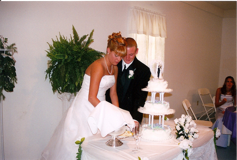 Michael and Danielle and Cake
