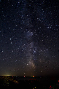 The Milky Way of the Straits of Mackinac