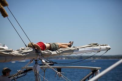 The joy of sailing