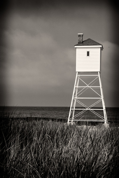 Fog House at Big Sable Point Lighthouse