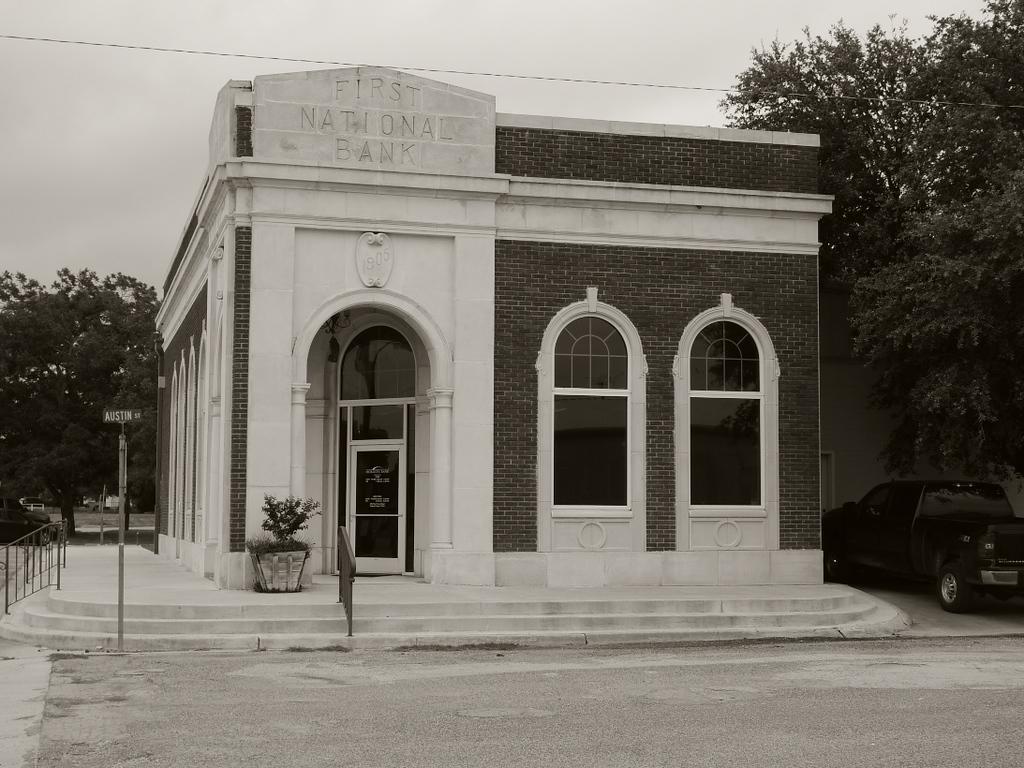 Restored Bank circa 1905