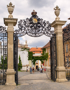 Entrance to the Mikolov Chateau, Mikulov
