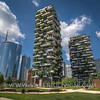 The Unicredit Tower and the Vertical Forest (the second one has been awarded Best Tall Building Worldwide for 2015 accordingly with the Council on Tall Buildings and Urban Habitat) - La Torre dell'Unicredit e il Bosco Verticale (il secondo è stato insignito del premio per il grattacielo più bello e innovativo del mondo: l'ha stabilito il Council on Tall Buildings and Urban Habitat)
