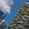 The Unicredit Towers and the Vertical Forest (the second one has been awarded Best Tall Building Worldwide for 2015 accordingly with the Council on Tall Buildings and Urban Habitat) - La Torre dell'Unicredit e il Bosco Verticale (il secondo è stato insignito del premio per il grattacielo più bello e innovativo del mondo: l'ha stabilito il Council on Tall Buildings and Urban Habitat)