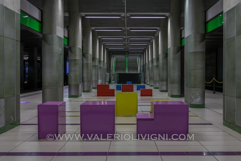 Underground: Garibaldi Gate Station - Satzione P.ta Garibaldi della Metropolitana