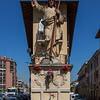 «El Signurun de Milan» o «El Cristun de Cement» La statua di Cristo benedicente in via San Dionigi -