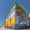 Efêmero public mural by Os Gemeos at Pirelli Hangar Bicocca