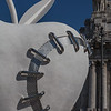 The Reinstated Apple / Third Paradise  by Michelangelo Pistoletto - Il Terzo Paradiso / La Mela Reintegrata di Michelangelo Pistoletto