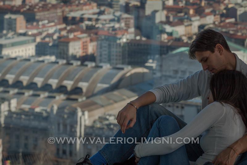 Lombardy Palace: panoramic viewpoint at 39th floor (Central Station in the background) - Palazzo della Regione Lombardia: belvedere del 39° piano (Stazione Centrale sullo sfondo)
