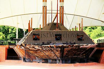 USS Cairo Ironclad, Vicksburg battlefield, Mississippi.