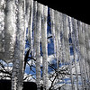 Icicles in Vail Colorado